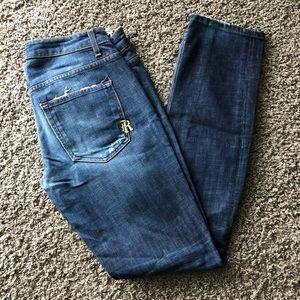 Straight Leg Rich & Skinny Jean